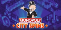 Cover art for Monopoly City Spins slot