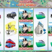 monopoly city spins slot main game