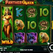 panther queen slot main game