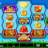 pollen party slot main game