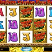 Rainbow Riches Free Spins slot main game