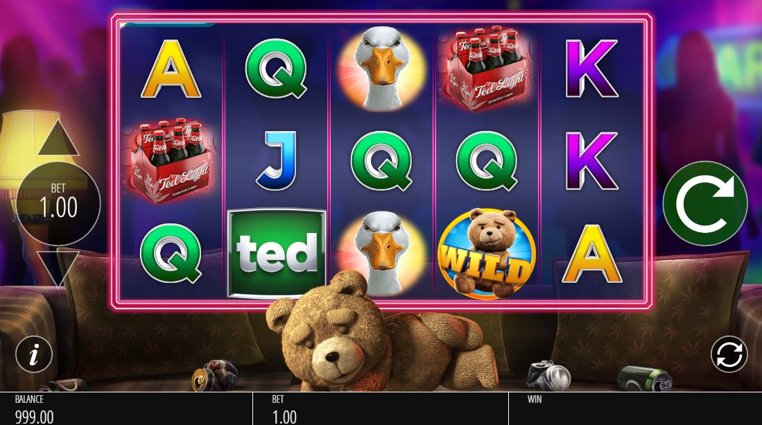 Ted slot free play roulette no deposit uk