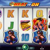 the heat is on slot main game