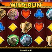 wild run slot main game