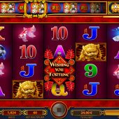 wishing you fortune slot main game