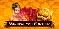 wishing you fortune slot logo