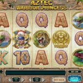 aztec warrior princess slot main game