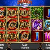 dragon spin slot main game