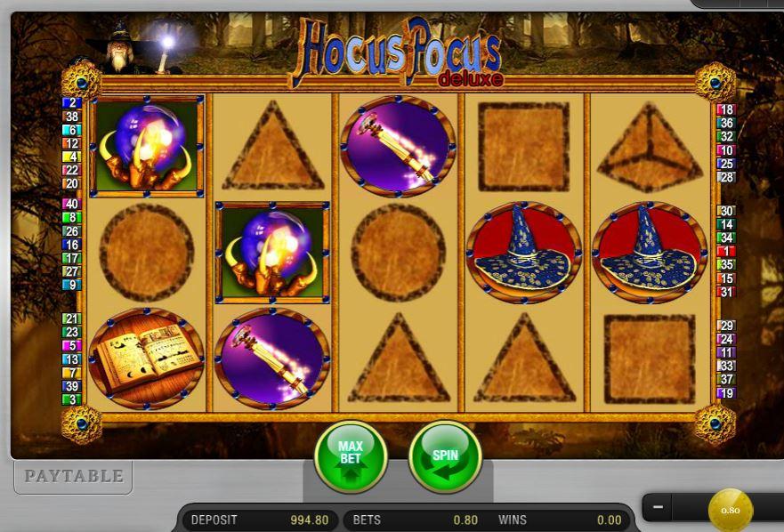 Hocus Pocus Deluxe Slot Machine