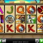 knights life slot main game