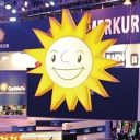 merkur stand at international gaming show