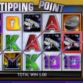 tipping point slot main game