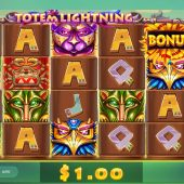 totem lightning slot main game