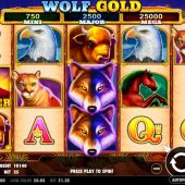 wolf gold slot main game
