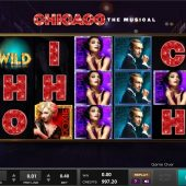 chicago the musical slot main game