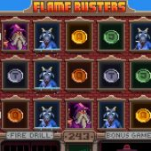 flame busters slot game
