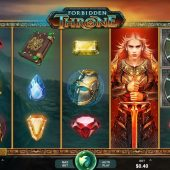 forbidden throne slot game