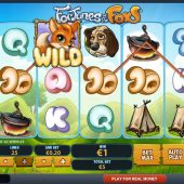 fortunes of the fox slot game