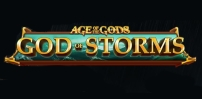 Cover art for Age of The Gods: God of Storms slot