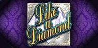 like a diamond slot logo