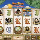 monty python and the holy grail slot game