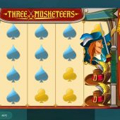 three musketeers slot main game
