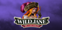 wild jane the lady pirate slot logo