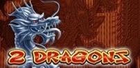 Cover art for 2 Dragons slot
