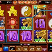2 dragons slot main game