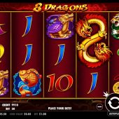 8 dragons slot main game