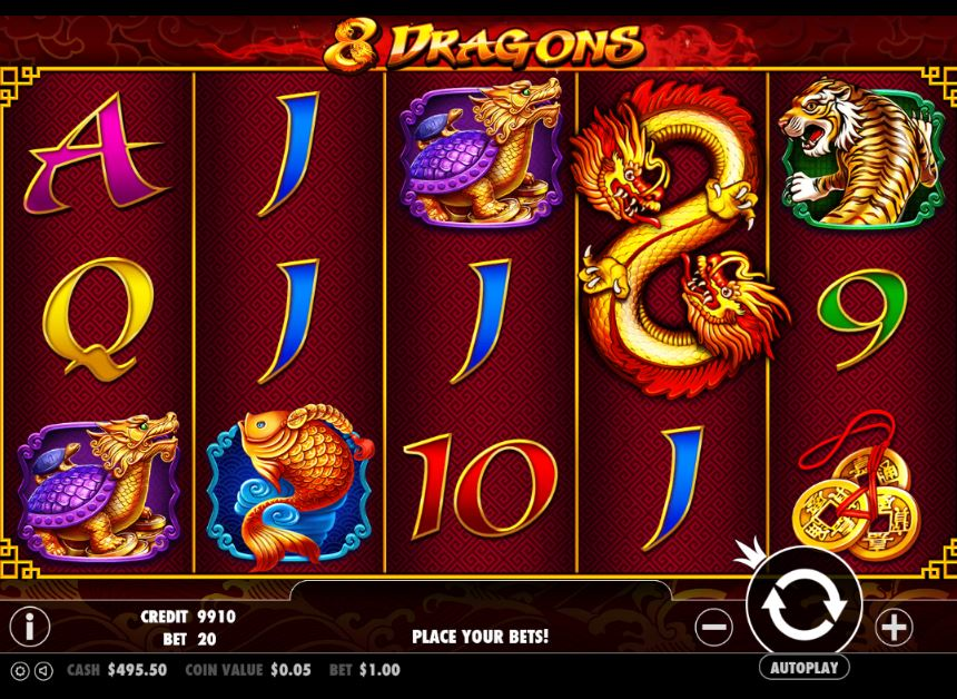 8 Dragons slot from Pragmatic Play free online demo