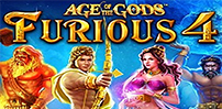 Cover art for Age of The Gods: Furious 4 slot