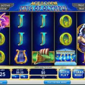 age of gods king of olympus slot game