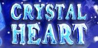 crystal heart slot logo