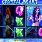 crystal heart slot game