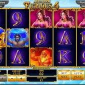 Age of Gods Furious Four slot game