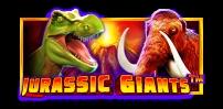 jurassic giants slot logo