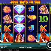 jurassic giants slot game