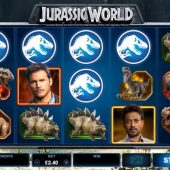 jurassic world slot main game