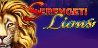 Cover art for Serengeti Lions slot