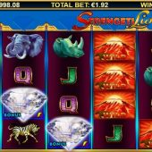 serengeti lions slot main game