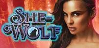 she wolf slot logo