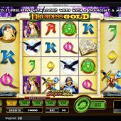 druidess gold slot main game