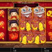 lion festival slot main game