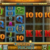 queen of riches slot main game