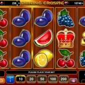 shining crown slot main game