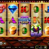 thunder cash slot main game