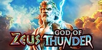 zeus god of thunder slot logo