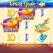 crazy genie slot game