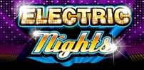 electric nights slot logo